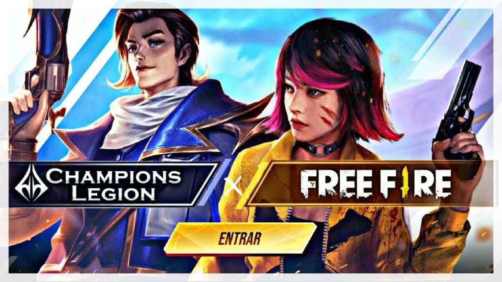 Free Fire Collaboration with Champions Legion