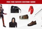 Free Fire Hayato Costume Guide