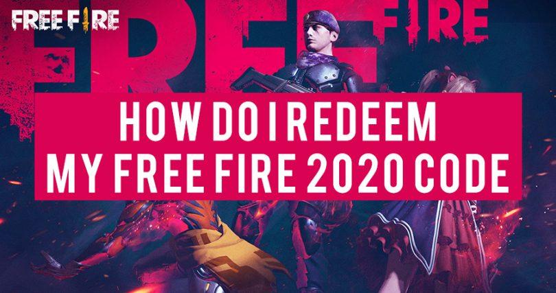 How do I redeem my Free Fire 2020 Code