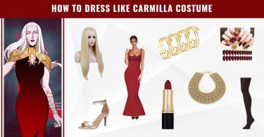 How to Dress like Carmilla Costume