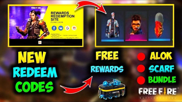 How to use the Free Fire Redeem Codes