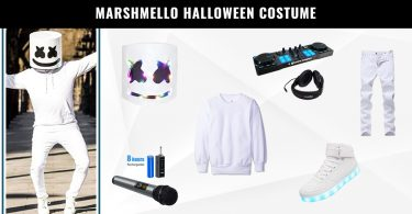 Marshmello Halloween Costume