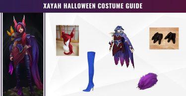 Xayah Halloween Costume Guide