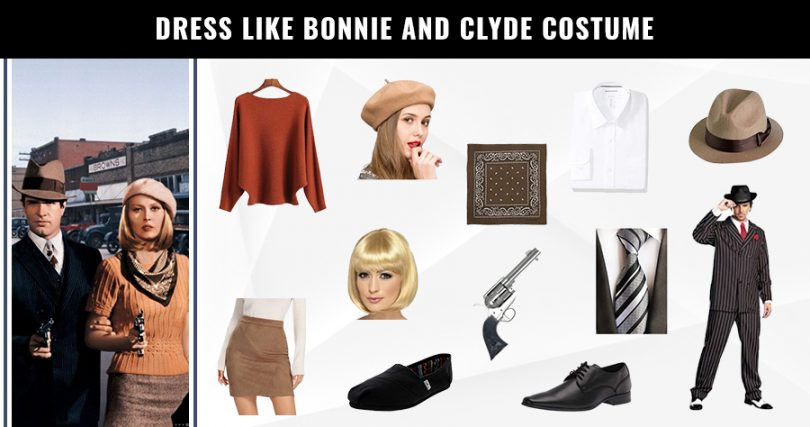 Dress like Bonnie and Clyde Costume