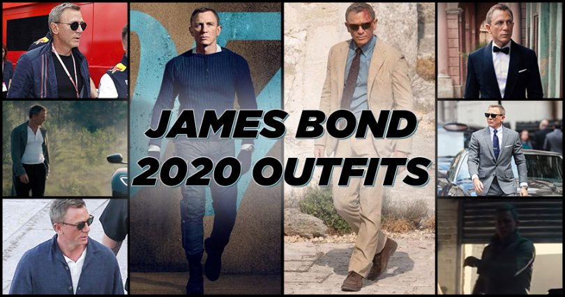 James Bond 2020 Outfits