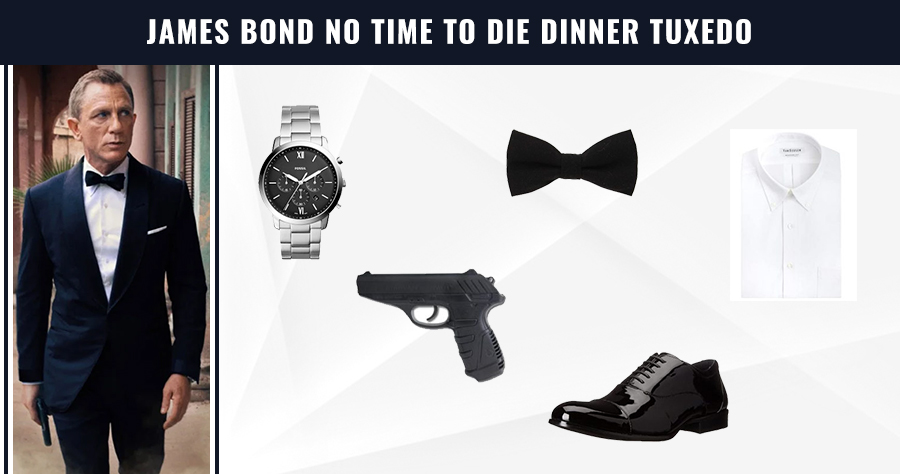 JamesBond No Time to Die Dinner Tuxedo