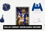Dallas Cowboy Cheerleader Costume