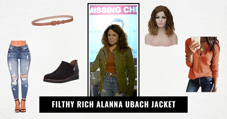 Filthy Rich Alanna Ubach Jacket