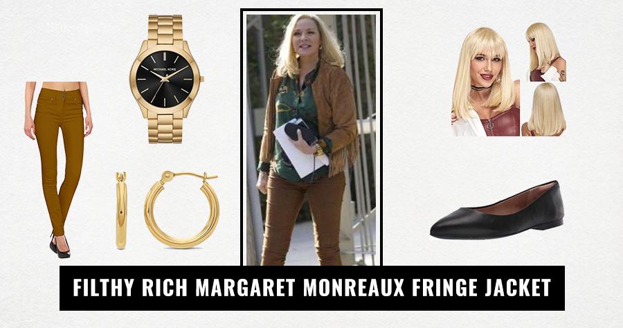 Filthy Rich Margaret Monreaux Fringe Jacket