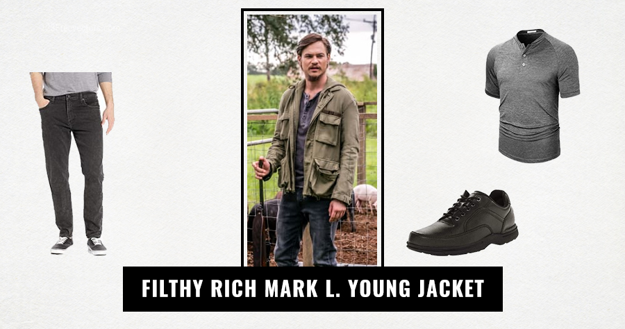 Filthy Rich Mark L. Young Jacket
