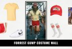 Forrest Gump Costume Wall