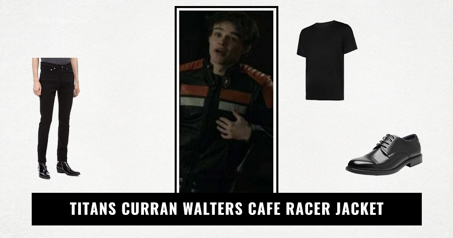 Titans Curran Walters Cafe Racer Jacket