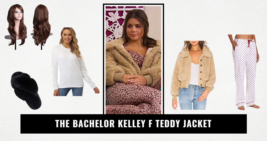 The Bachelor Kelley F Teddy Jacket