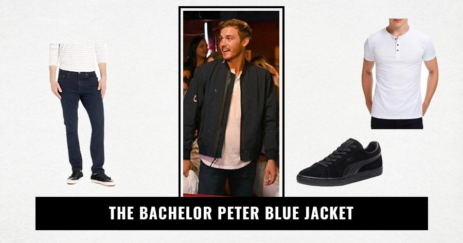 The Bachelor Peter Blue Jacket