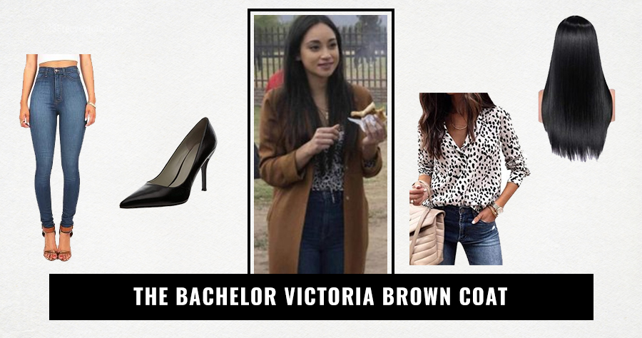 The Bachelor Victoria Brown Coat