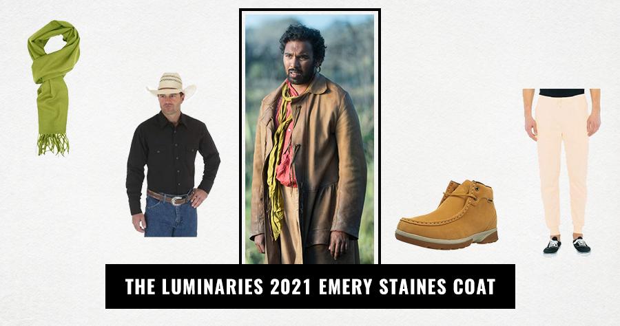 The Luminaries 2021 Emery Staines Coat