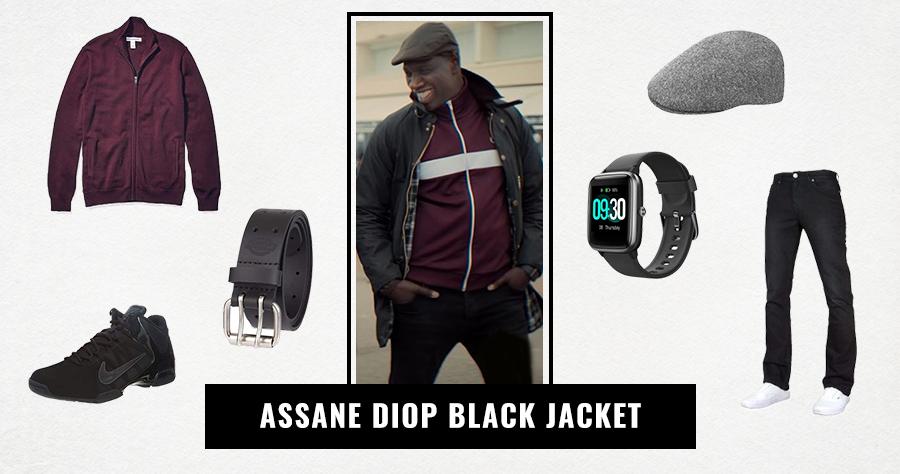 Assane Diop Black Jacket