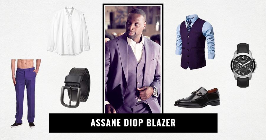 Assane Diop Blazer