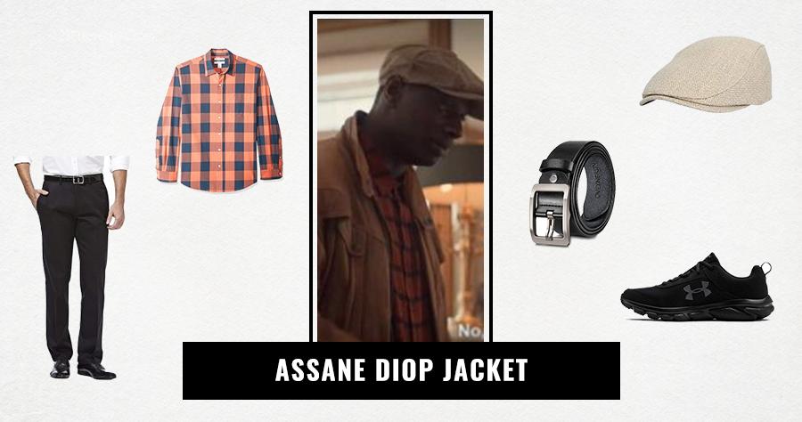 Assane Diop Jacket