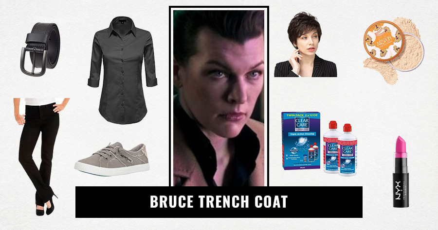 Bruce Trench Coat