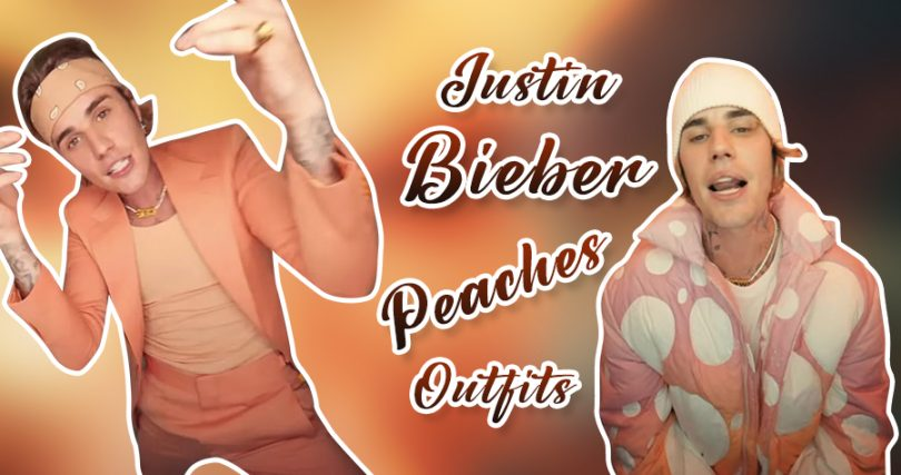 Justin Bieber Peaches Outfits