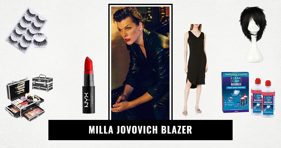 Milla Jovovich Blazer
