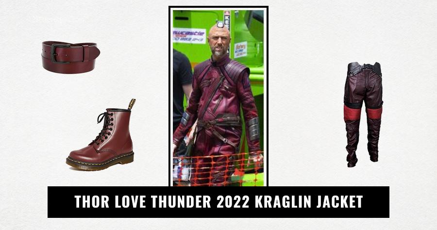 Thor Love Thunder 2022 Kraglin Jacket