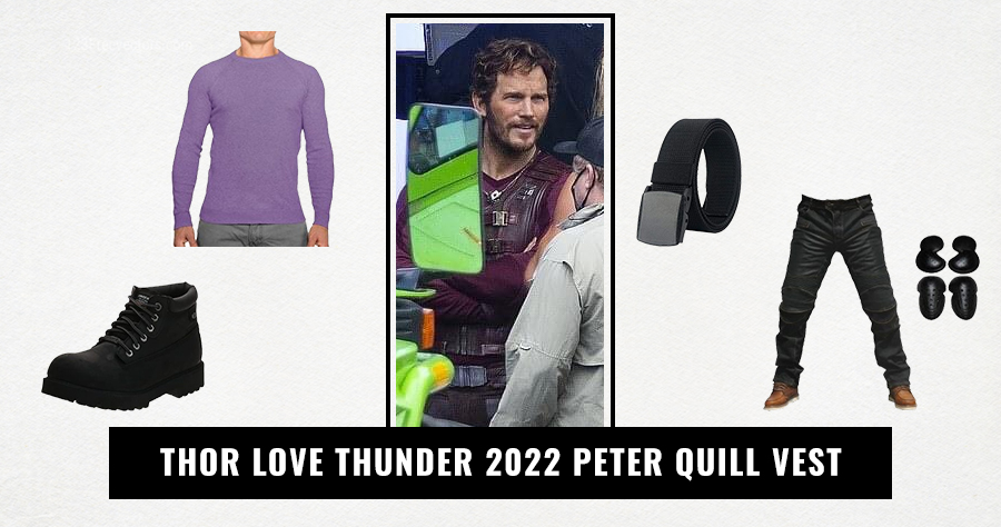 Thor Love Thunder 2022 Peter Quill Vest