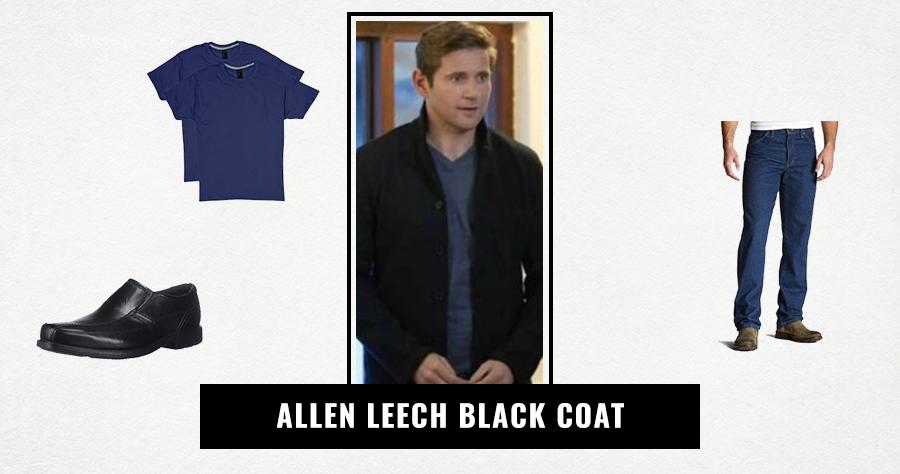Allen Leech Black Coat