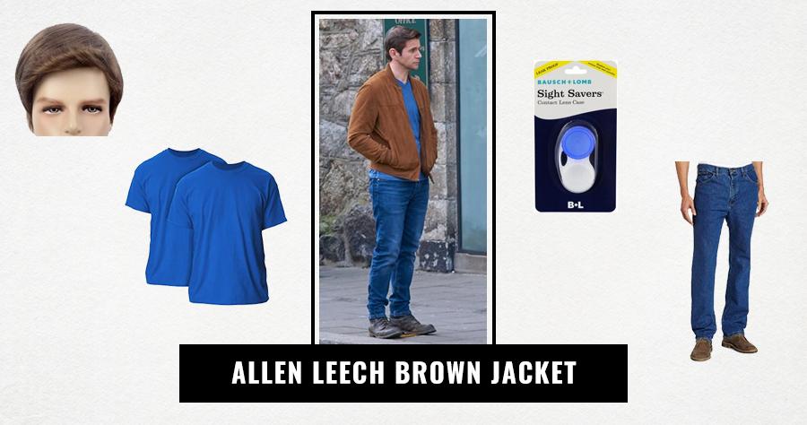 Allen Leech Brown Jacket.