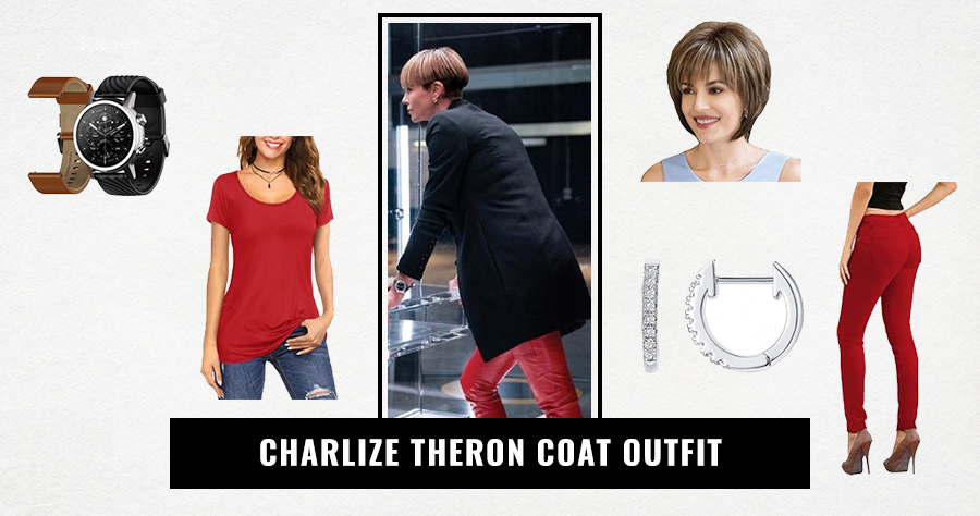 Charlize Theron Coat Outfit