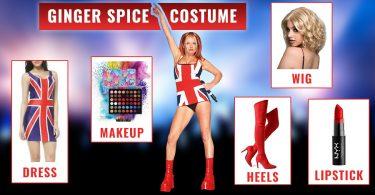 Ginger Spice Costume