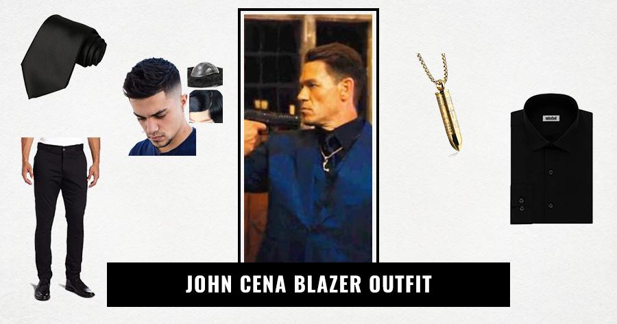 John Cena Blazer Outfit