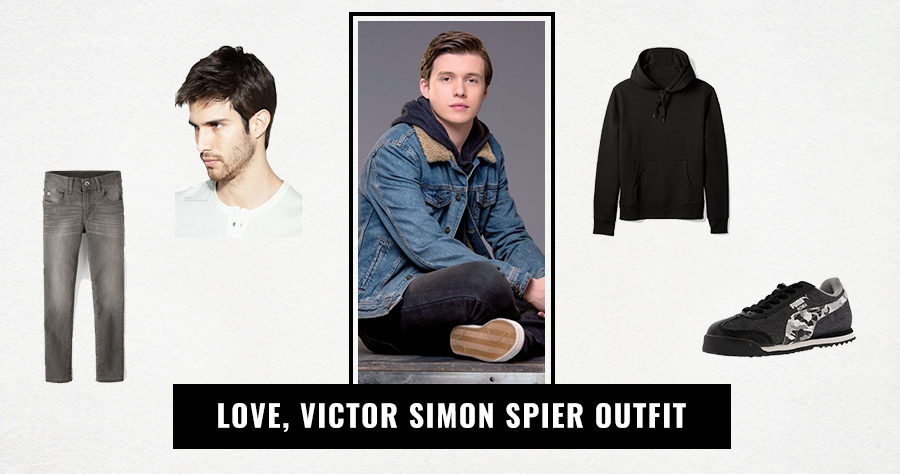Love, Victor Simon Spier Outfit