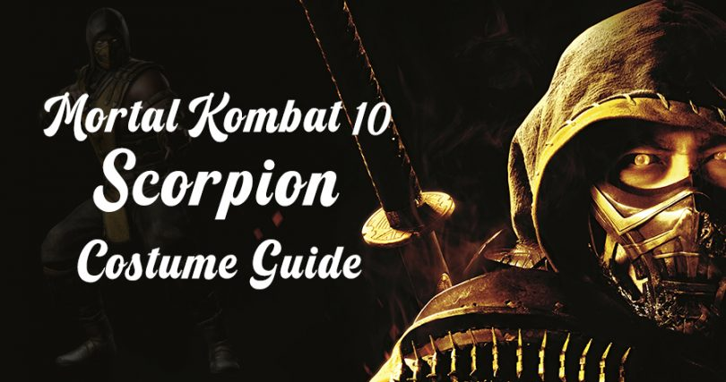 Mortal Kombat 10 Scorpion Costume Guide