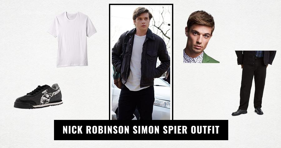 Nick Robinson Simon Spier Outfit