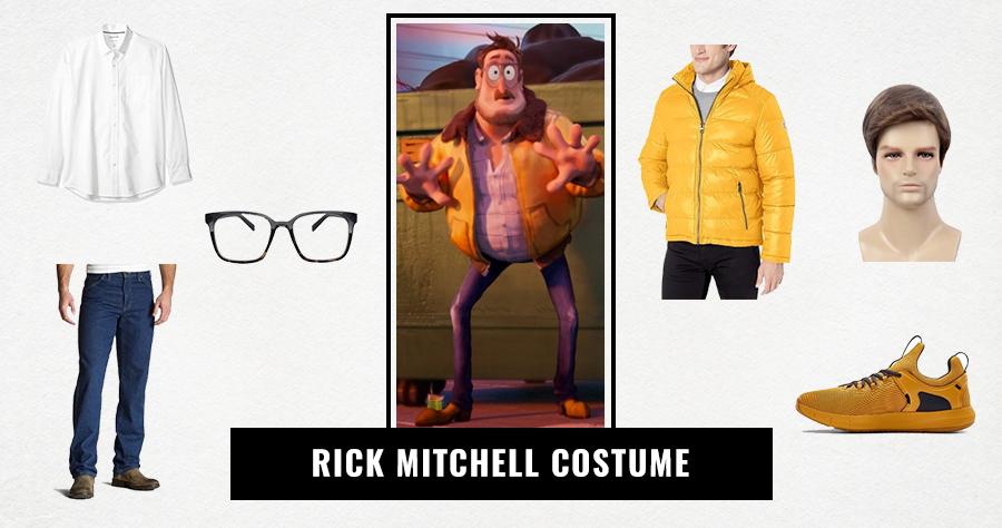 Rick Mitchell Costume