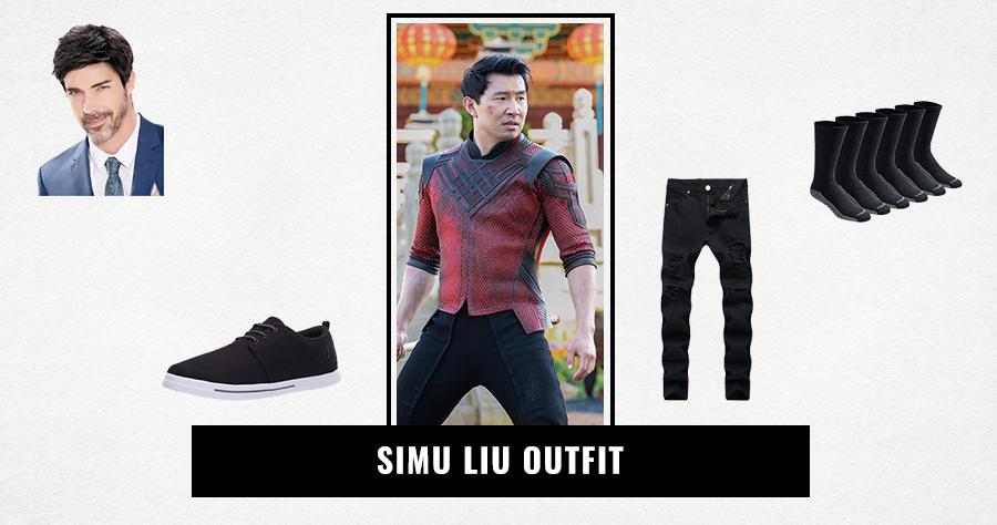 Simu Liu Outfit
