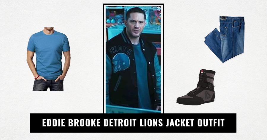 Eddie Brooke Detroit Lions Jacket Outfit