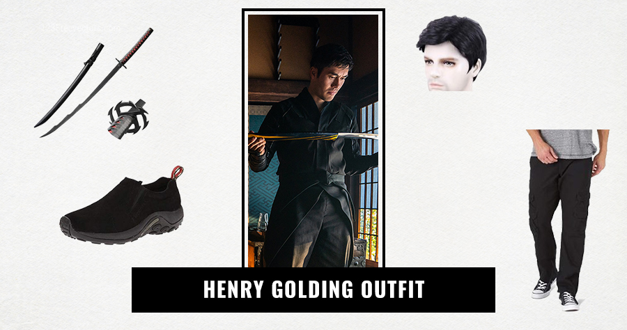 Henry Golding Outfit