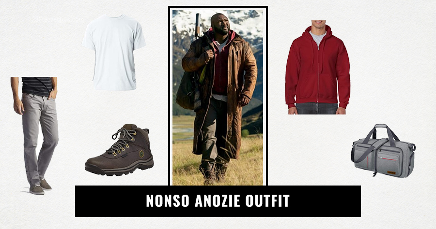 Nonso Anozie Outfit