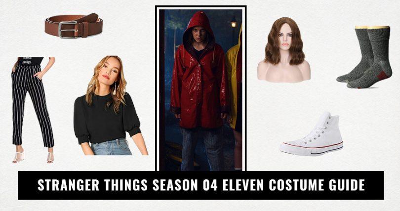 Stranger Things Season 04 Eleven Costume Guide