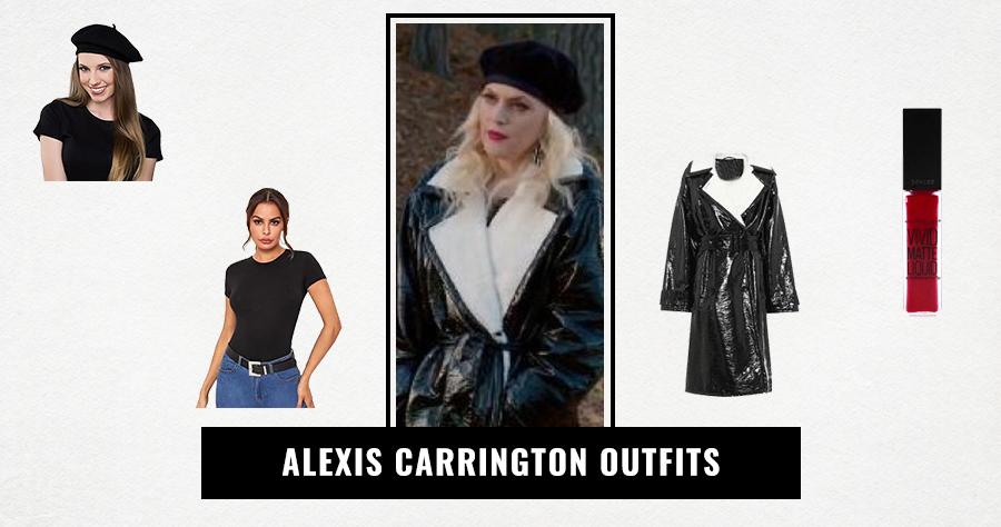 Alexis Carrington Outfits