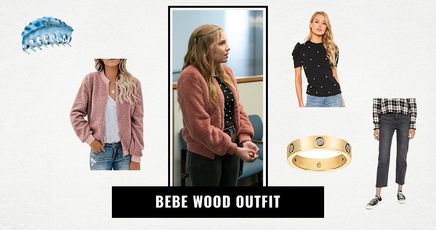 Bebe Wood Outfit