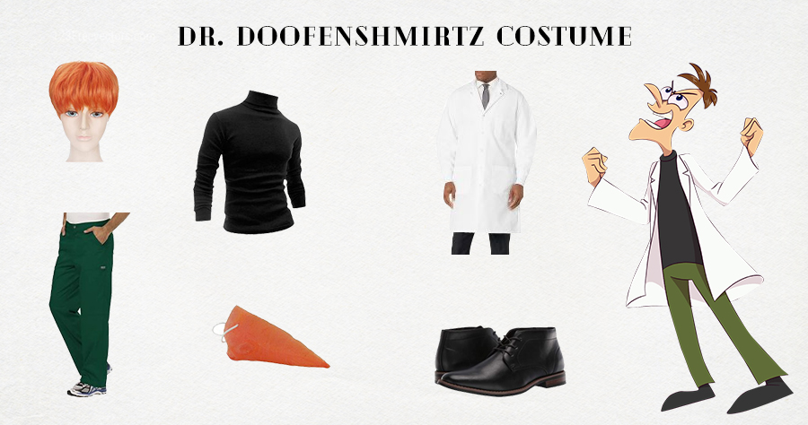 DIY Dr. Doofenshmirtz costume
