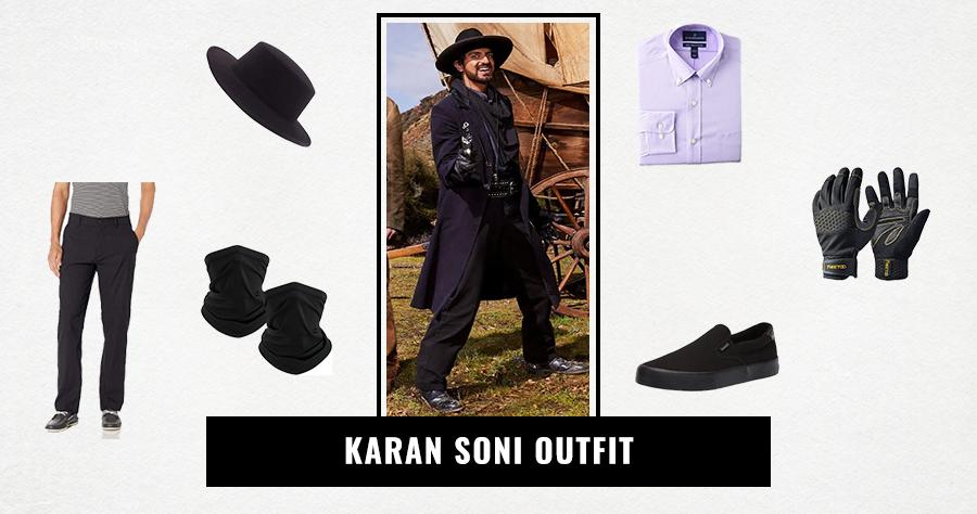 Karan Soni Outfit