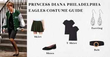 Princess Diana Philadelphia Eagles Costume Guide