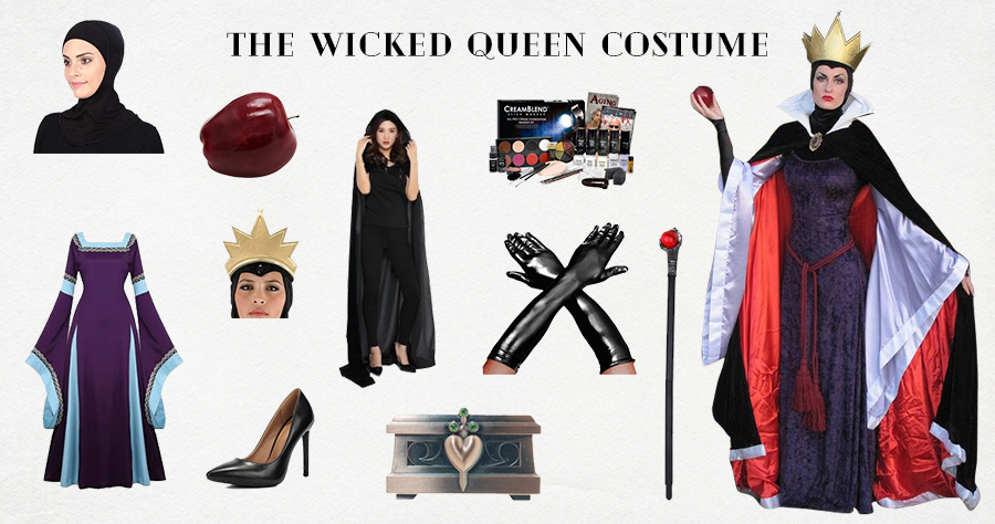The Wicked Queen Costume