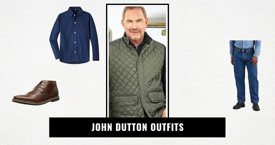 John Dutton Outfits