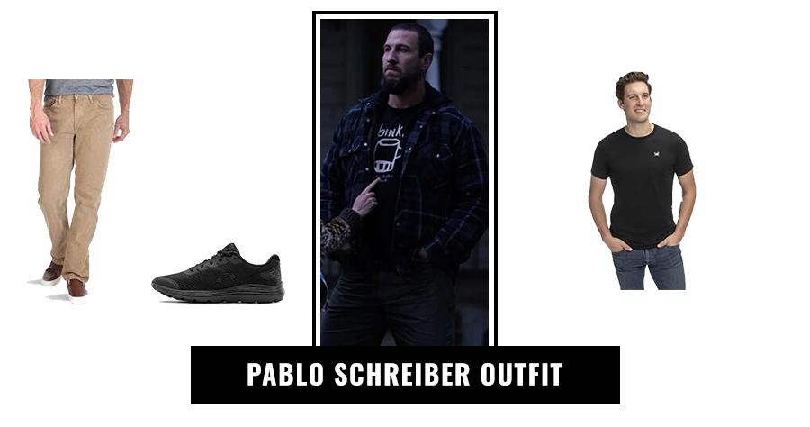 Pablo Schreiber Outfit